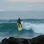 Feb_ Learning to SUP In winter surf