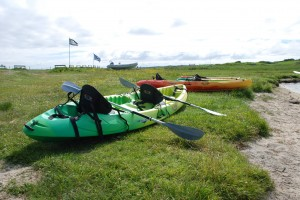RTM Ocean Duo with paddles Hire Canoes Tiree