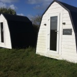 camping pods isle of tiree with Wild Diamond